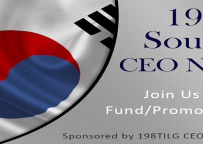 198TILG South Korea CEO Network, USA