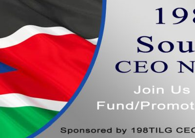 198TILG South Sudan CEO Network, USA