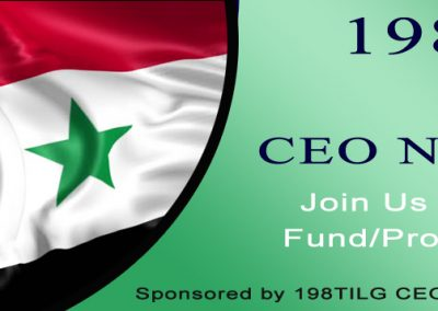 198TILG Syria CEO Network, USA