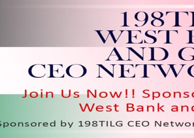 198TILG West Bank and Gaza CEO Network, USA
